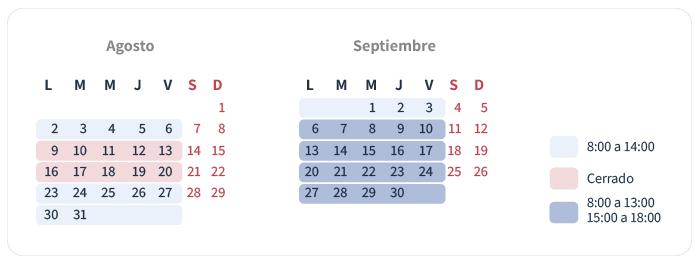 horario verano 2021 | Eprom S.A.